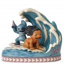 Catch The Wave (Lilo & Stitch) 15th Anniversary Disney Traditions Enesco