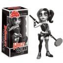 Harley Quinn (B/W) Rock Candy Figurine Funko