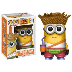 Tourist Dave - Despicable Me 3 POP! Movies Figurine Funko