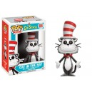 Cat in the Hat Flocked Exclusive - Dr. Seuss POP! Books Figurine Funko