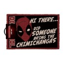 "Paillasson Deadpool ""HI THERE... CHIMICHANGAS"" Pyramid International"
