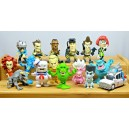 Set (16) Series 1 Micro Figurines Cryptozoic Entertainment