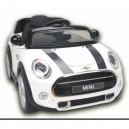 Voiture électrique 12V Mini cooper S blanche