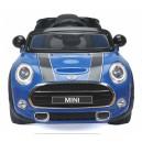 Voiture électrique 12V Mini cooper S bleue