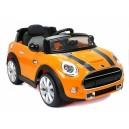 Voiture électrique 12V Mini cooper S orange