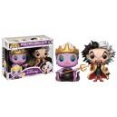 Ursula with Cruella De Vil Exclusive POP! Disney 2 Pack Figurines Funko