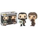Battle of the Bastards (Jon Snow & Ramsay Bolton) POP! 2 Pack Figurines Funko
