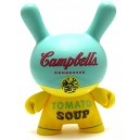 Yellow Campbell's Soup 3/24 Andy Warhol Series 2 Dunny 3-Inch Figurine Kidrobot