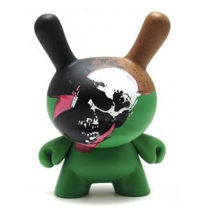 Skull 2/24 Andy Warhol Series 2 Dunny 3-Inch Figurine Kidrobot