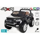 Voiture électrique 24V Ford Ranger 4x4 LCD Luxury noir