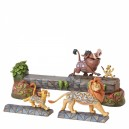 Carefree Camaraderie (Simba, Timon and Pumbaa) Disney Traditions Enesco