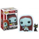 Sally (Seated) GITD Flocked Exclusive POP! Disney Figurine Funko
