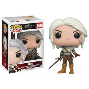 Ciri - The Witcher 3 : Wild Hunt POP! Games Figurine Funko