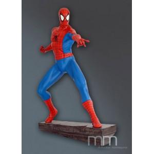 Spider-Man Comic (Stone Base) Life Size Statue