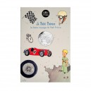 """Le Petit Prince Monnaie 10€ Argent """"Aux courses de voiture"""" Monnaie de Paris"""