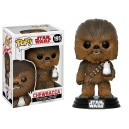 Chewbacca (with Porg) POP! Star Wars Bobble-head Funko