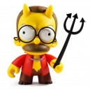 Devil Flanders The Simpsons Medium Art Figurine Kidrobot
