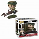 Princess Leia with Speeder Bike POP! Star Wars Bobble-head Funko