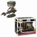 Luke Skywalker with Speeder Bike Chase POP! Star Wars Bobble-head Funko
