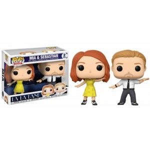 Mia & Sebastian - La La Land POP! Movies 2-Pack Figurine Funko