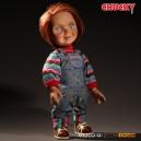 "Good Guy Chucky - Child's Play Talking Figurine 15"" Mezco"