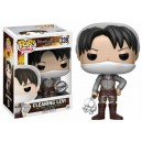 Cleaning Levi Exclusive - Attack on Titan POP! Animation Figurine Funko