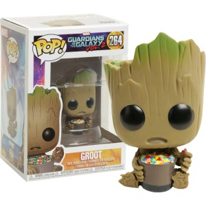 Groot (with Candy Bowl) Exclusive POP! Marvel Figurine Funko