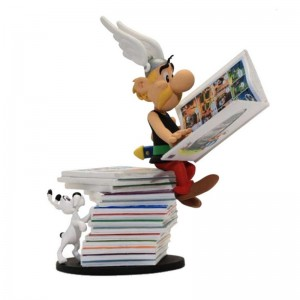 Astérix Pile d'Albums Collectoys Statue Plastoy