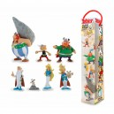 Tubo 7 Figurines Le Village d'Astérix Plastoy