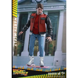 Marty McFly - BTTF II MMS Figurine 1/6 Hot Toys