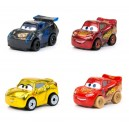 Pack 4-Mini Racers Cars 3 Die-Cast Wave 3 Mattel