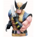 Wolverine Masked Bust Money Bank Monogram
