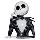 Jack Skellington Bust Money Bank Monogram