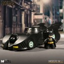 1989 Batmobile and Batman Mez-Itz Figurine Mezco