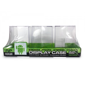 Hexagonal Display Case 3-Pack (Mini Figurines) DKE Toys