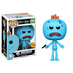 Mr. Meeseeks Chase - Rick and Morty POP! Animation Figurine Funko