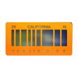 DeLorean Time Machine 2015 Aluminium Bar Code License Plate Back to the Future