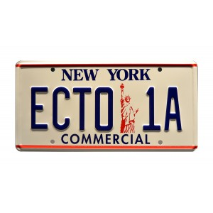 Cadillac 1959 ECTO-1 License Plate Ghostbusters II (1989)