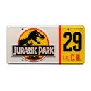 Number 29 Jeep Wrangler Sahara JP 29 License Plate Jurassic Park (1993)