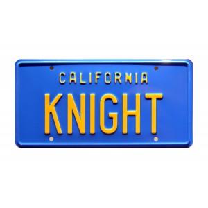 Trans Am 1982 'KITT' KNIGHT License Plate Knight Rider