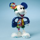 Mickey by Britto Winter Fun Statue 11cm Enesco