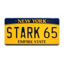Tony Stark's Audi e-tron STARK 65 License Plate The Avengers