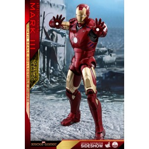 ACOMPTE 20% précommande Iron Man Mark III Deluxe Version QSS Figurine 1/4 Hot Toys