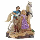Live Your Dream (Rapunzel, Flynn & Maximusl) Carved by Heart Disney Traditions Enesco
