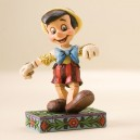 Lively Step (Pinicchio) Disney Traditions Enesco
