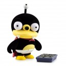 "Fury Little Nibbler 7"" Flocked Art Figurine Kidrobot"