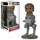 Chewbacca with AT-ST POP! Star Wars Bobble-head Funko