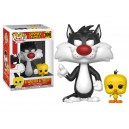 Sylvester & Tweety - Looney Tunes POP! Animation Figurine Funko