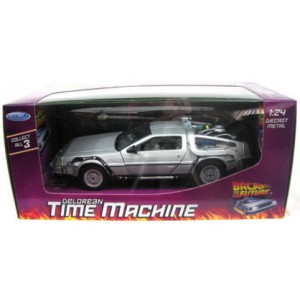 "DeLorean ""Retour vers le Futur"" 1/24 Welly"