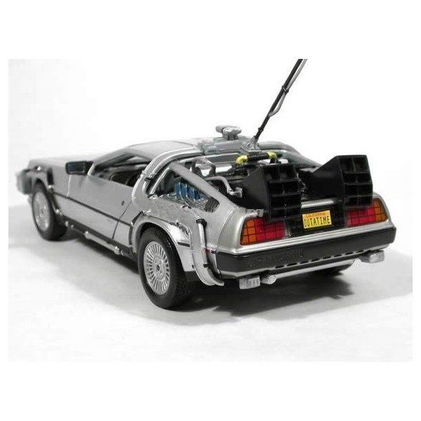 delorean retour vers le futur 1 24 welly liberty toys. Black Bedroom Furniture Sets. Home Design Ideas